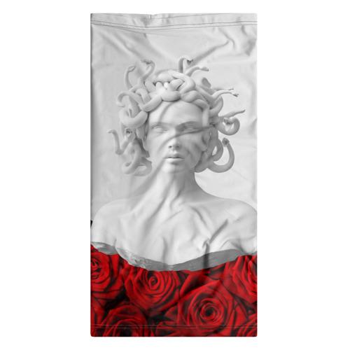 Бандана-труба 3D  Фото 07, Унисекс / Snake roses girl