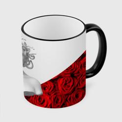 Унисекс / Snake roses girl