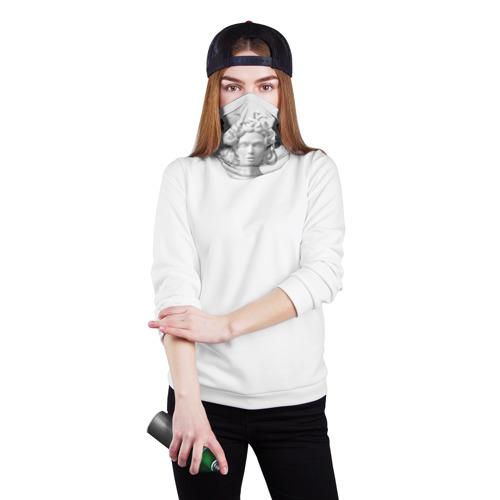 Бандана-труба 3D  Фото 02, Унисекс / Snake roses girl