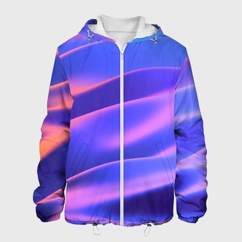 Мужская куртка 3D  Фото 01, Water Colors