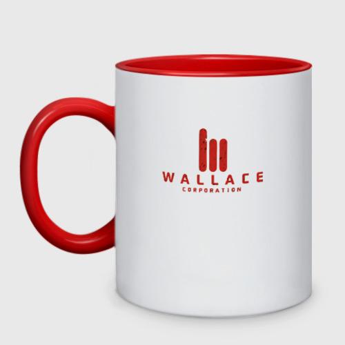 Кружка двухцветная wallace