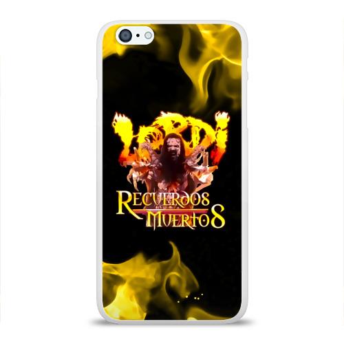 Чехол для Apple iPhone 6Plus/6SPlus силиконовый глянцевый  Фото 01, Recuerdos Muertos