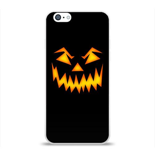 Чехол для Apple iPhone 6 силиконовый глянцевый  Фото 01, Halloween