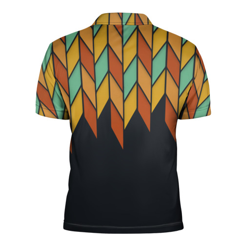 Мужская рубашка поло 3D  Фото 02, Перья птицы из Вальхаллы