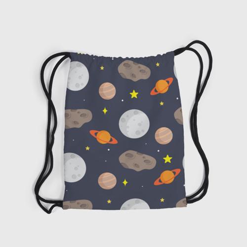 Рюкзак-мешок 3D  Фото 04, Луна