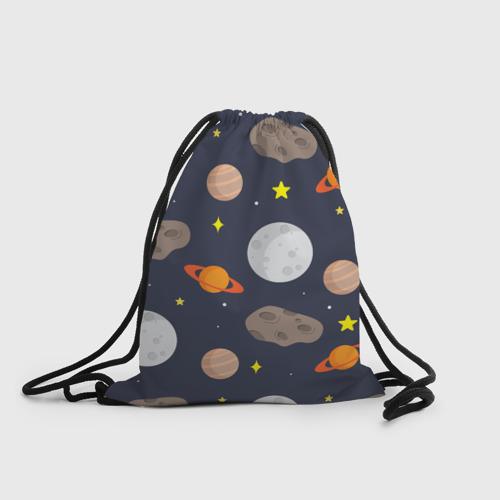 Рюкзак-мешок 3D  Фото 01, Луна