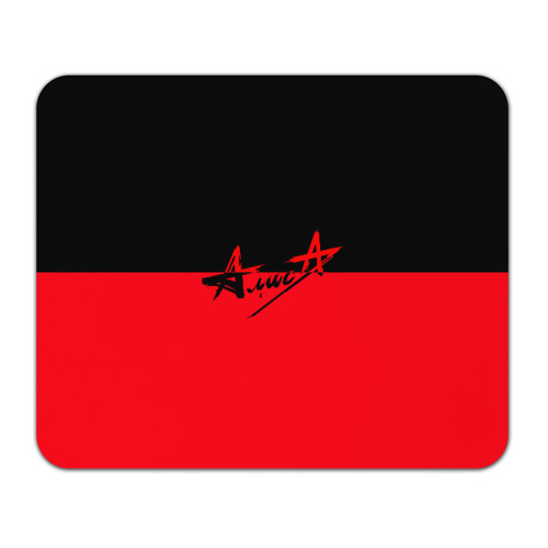 Коврик для мышки прямоугольный Флаг группа Алиса Фото 01