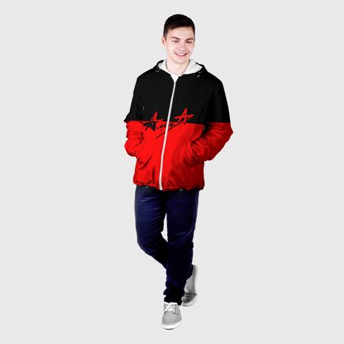 Мужская куртка 3D  Фото 03, Флаг группа Алиса