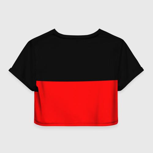 Женская футболка Cropp-top Флаг группа Алиса Фото 01