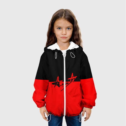 Детская куртка 3D Флаг группа Алиса Фото 01