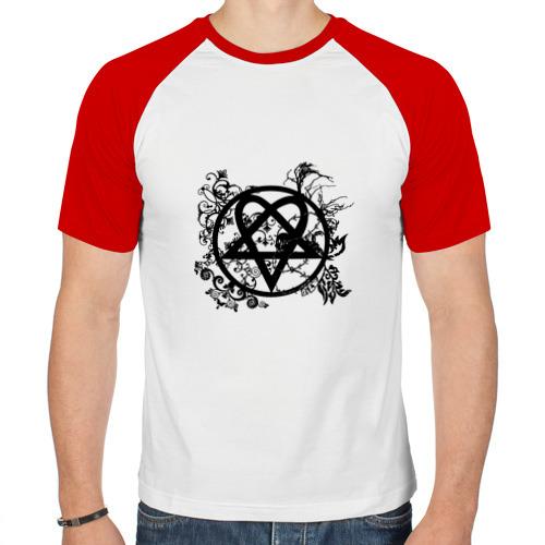 Мужская футболка реглан  Фото 01, Знак группы HIM