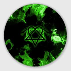 HIM зеленое пламя