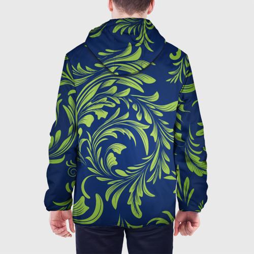 Мужская куртка 3D  Фото 05, Цветочный узор