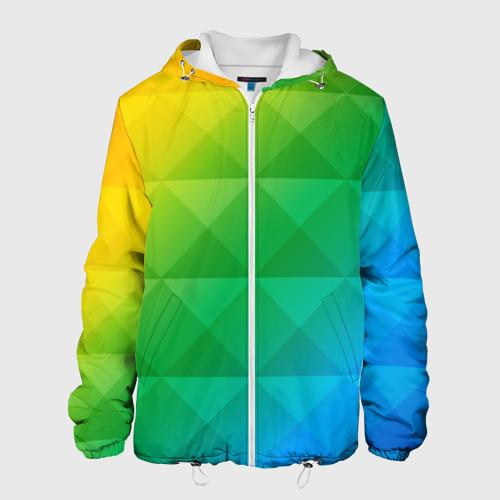 Мужская куртка 3D  Фото 01, Colored wall