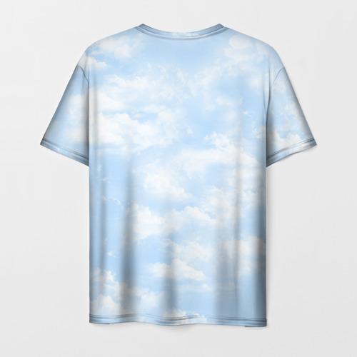 Мужская футболка 3D Облака Фото 01