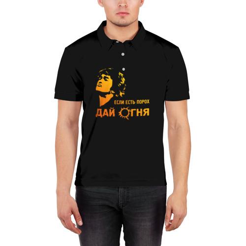 Мужская рубашка поло 3D  Фото 03, Дай Огня