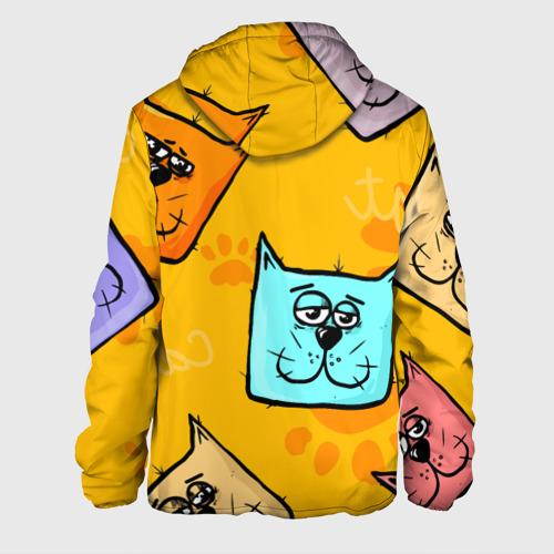 Мужская куртка 3D  Фото 02, Котики