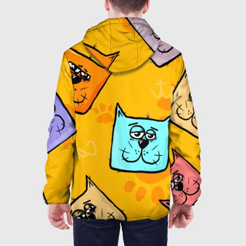 Мужская куртка 3D  Фото 05, Котики