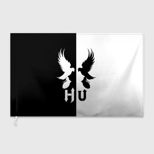 Флаг 3D  Фото 03, Черно-белый Hollywood Undead