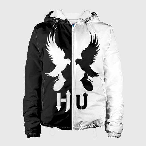 Женская куртка 3D  Фото 01, Черно-белый Hollywood Undead