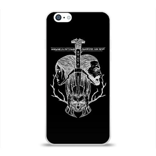 Чехол для Apple iPhone 6 силиконовый глянцевый  Фото 01, Ведьмак