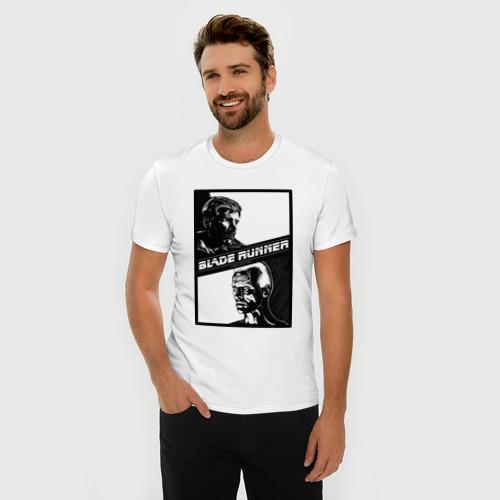 Мужская футболка премиум  Фото 03, Бегущий по лезвию