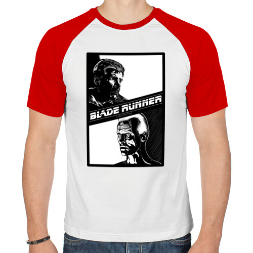 Мужская футболка реглан  Фото 01, Бегущий по лезвию