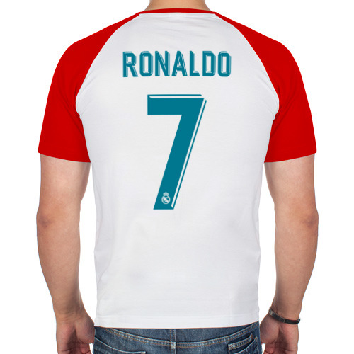 Мужская футболка реглан  Фото 02, Криштиану Роналду Форма 2018