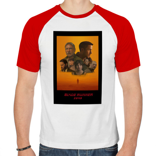 Мужская футболка реглан  Фото 01, Blade Runner 2049