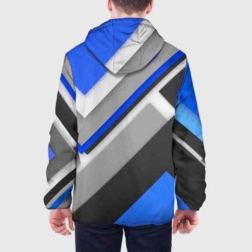 Мужская куртка 3D  Фото 05, Спортивная геометрия #7