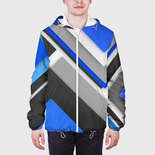 Мужская куртка 3D  Фото 04, Спортивная геометрия #7