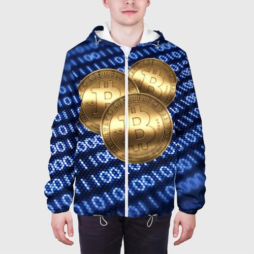 Мужская куртка 3D  Фото 04, Bitcoin