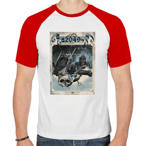 Мужская футболка реглан  Фото 01, 2049