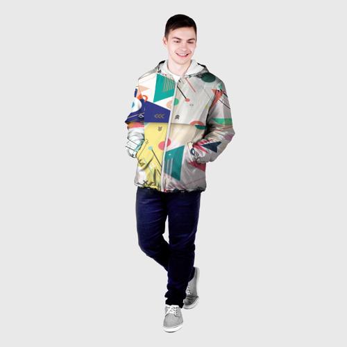 Мужская куртка 3D  Фото 03, Геометрия времени