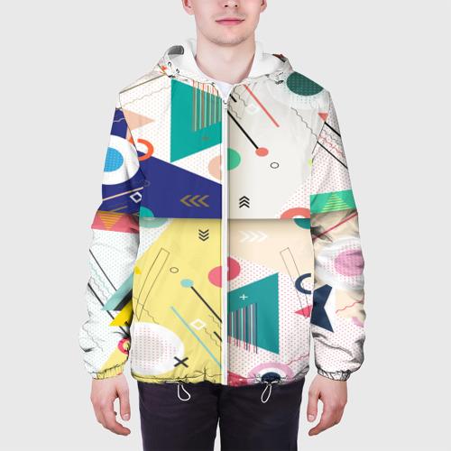 Мужская куртка 3D  Фото 04, Геометрия времени