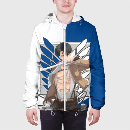 Мужская куртка 3D  Фото 04, Атака Титанов