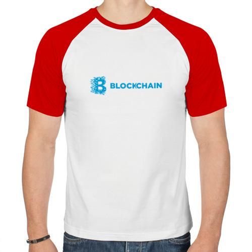 Мужская футболка реглан  Фото 01, Blockchain