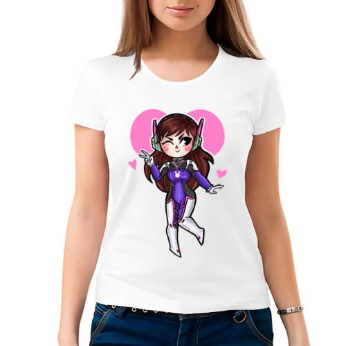 Женская футболка хлопок  Фото 03, D.Va
