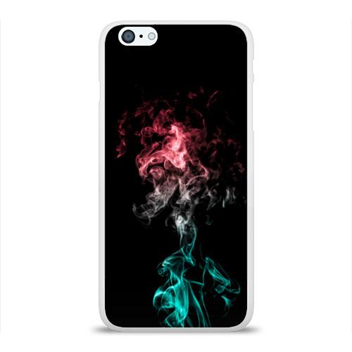 Чехол для Apple iPhone 6Plus/6SPlus силиконовый глянцевый  Фото 01, smoke