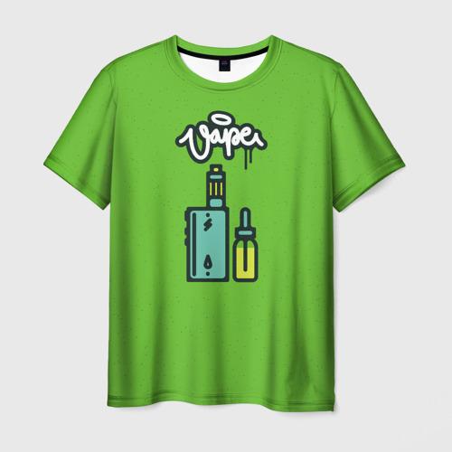 Мужская футболка 3D  Фото 01, Vape