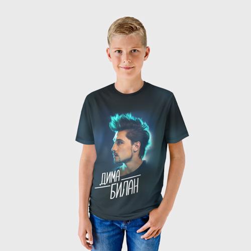 Детская футболка 3D Дима Билан