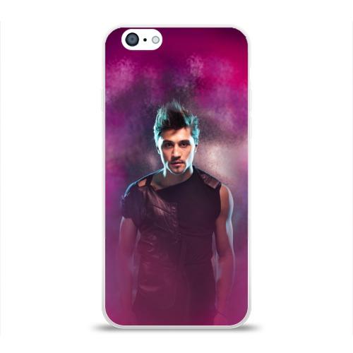 Чехол для Apple iPhone 6 силиконовый глянцевый  Фото 01, Дима Билан 2