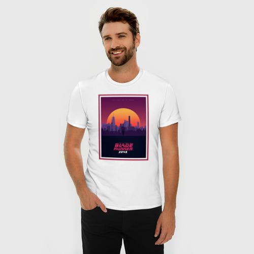 Мужская футболка премиум  Фото 03, Бегущий по лезвию 2049