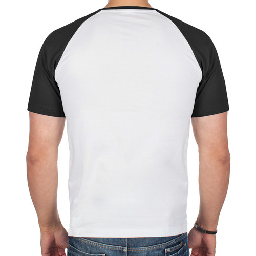 Мужская футболка реглан  Фото 02, Модный Бургер