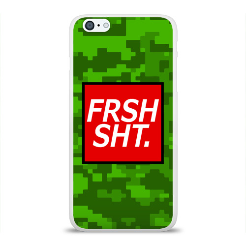 Чехол для Apple iPhone 6Plus/6SPlus силиконовый глянцевый FRSH SH*T. Фото 01