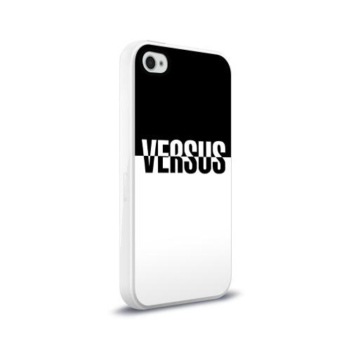 Чехол для Apple iPhone 4/4S силиконовый глянцевый VERSUS Фото 01