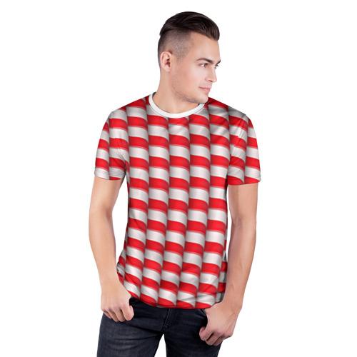 Мужская футболка 3D спортивная  Фото 03, Sweet sticks