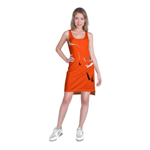 Платье-майка 3D Лисица Фото 01