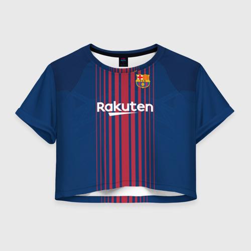 Женская футболка Cropp-top Неймар Форма Барселона 2018