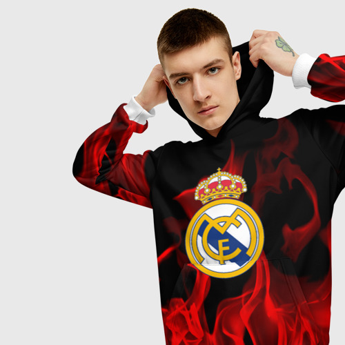 Мужская толстовка 3D  Фото 01, Real Madrid